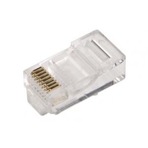 Konektor RJ45 zástrčka 8 PIN vývody 8p8c na kabel