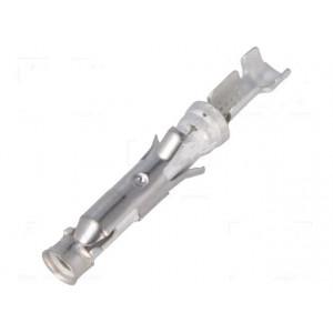 Kontakt zásuvka 0,2-0,6mm2 20-24AWG Type III+ pocínovaný