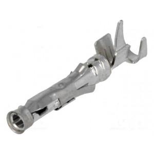 Kontakt zásuvka 0,8-2mm2 14-18AWG Type III+ pocínovaný volně