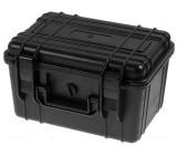Zásobník - přepravní kufřík 260x180x150mm černá ABS