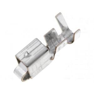 Kontakt zásuvka 0,5÷1,25mm2 16÷20AWG VH pocínovaný na kabel