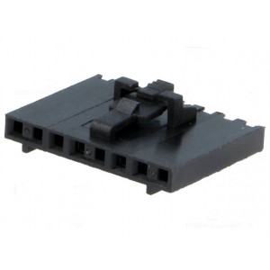 Zástrčka kabel-pl.spoj zásuvka PIN:8 bez kontaktů 2,54mm