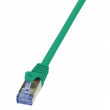 Patch cord S/FTP 6a licna Cu LSZH zelená 1,5m