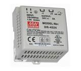 Zdroj spínaný 48W 24VDC 2A 85-264VAC 120-370VDC na DIN lištu