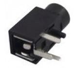 Zásuvka Jack 2,5 mm zásuvka mono, s vypínačem THT