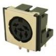 Zásuvka DIN zásuvka stíněný PIN:6 Uspořádání výv:240° THT