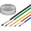 Kabel LifY licna Cu 0,14mm2 PVC oranžová