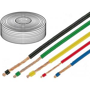 Kabel LifY licna Cu 0,14mm2 PVC bílá