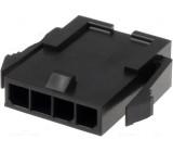 Zástrčka vodič-vodič vidlice Micro-Fit 3.0 3mm PIN: 4 5A