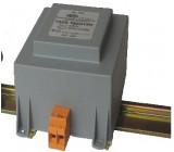 Transformátor zalévaný 160VA 230VAC 24V 6,67A na DIN lištu 3kg
