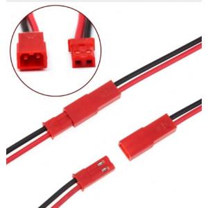 JST konektor samec + samice 10cm kabely