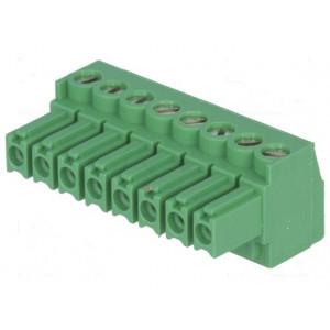 Rozpojovací svorkovnice R.kontaktů:3,5mm póly:8 přímý 300V