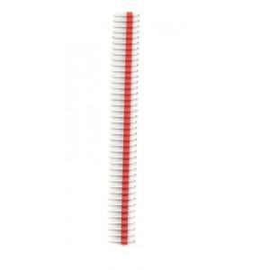 Kolíková lišta, vidlice 40PIN červená 2,54mm
