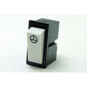 Zapínací ovladač střídavý vestavný kolébkový 6A 250V