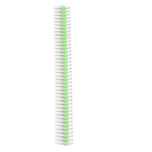Kolíková lišta, vidlice 40PIN zelená 2,54mm