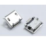 USB B micro konektor panelový 5PIN