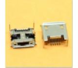 USB micro B konektor samice panelový