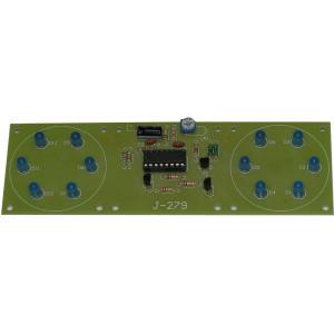 Elektronická stavebnice světelný efekt 9-12VDC vizuální efekty IC: CD4060
