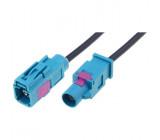 Prodlužovací kabel pro anténu Fakra zásuvka Fakra vidlice 2m