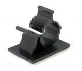 Samolepící příchytka kabelu polyamid černá 7.9 - 10.3mm