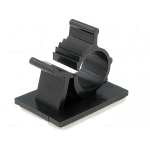 Samolepící držák 7,9÷10,3mm polyamid černá UL94V-2