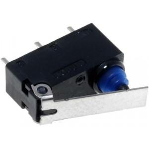 Mikrospínač SNAP ACTION s páčkou SPDT 0,1A/125VAC 2A/12VDC