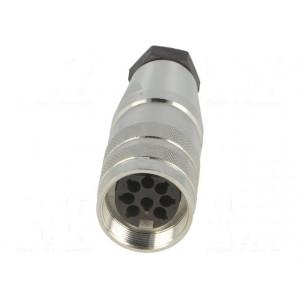 Konektor M16 Řada: C091D zástrčka zásuvka krimpovací na kabel