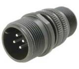 Konektor vojenský Řada DS/MS zástrčka vidlice 4 PIN na kabel