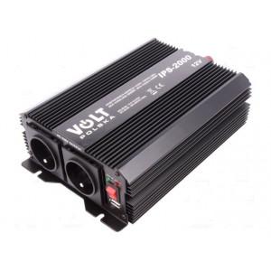 Měnič napětí DC/AC automobilový 1500W 230V AC 11V-15V 293x190x85mm