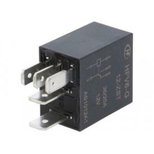 Relé: elektromagnetické SPDT Ucívky:12VDC 35A automobilová