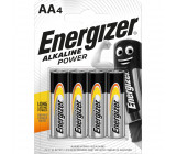 Power alkaline AA/LR6 4-blister