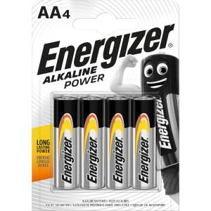 Power alkaline AA/LR6 4-blister