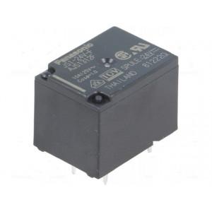 JS1-24V-F Relé: elektromagnetické SPDT Ucívky: 24VDC 10A/250VAC 5A/30VDC