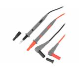 AX-TLS-003A Měřicí šňůra silikon 1m 10A černá a červená