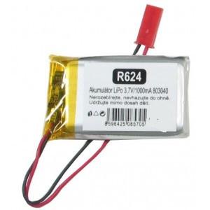 Akumulátor LiPo 3,7V/1000mAh 803040 /Nabíjecí baterie Li-Pol/