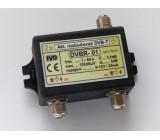 """Aktivní rozbočovač pro DVB-T/T2,2x výstup F""""5dB"""