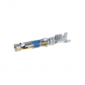 Kontakt zásuvka 0,8-1,4mm2 16-18AWG Type III+ zlacený volně