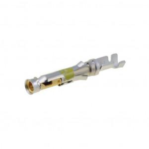 Kontakt zásuvka 0,2-0,6mm2 20-24AWG Type III+ zlacený volně