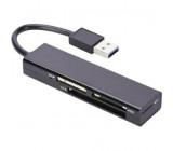 Čtečka karet: paměti USB 3.0 černá Komunikace: USB 70mm