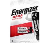 Baterie alkalická Energizer 1,5V AAAA blistr 2ks