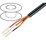 Kabel mikrofonní kulatý licna OFC 5x0,14mm2 PVC 100m