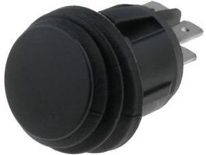 Kolébkový vypínač kulatý ON-OFF DPST 2 polohy