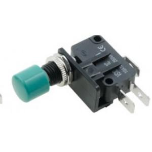 Tlačítkový SPDT 10A/250VDC ON-(ON) 1-polohové -25-70°C