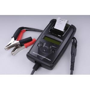 přesný bezzátěžový tester baterií a dobíjecí soustavy s tiskárnou - 40A až 2100A (startovací proud)