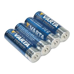 Baterie alkalická AA/LR6 1.5 V High Energy, 4 ks