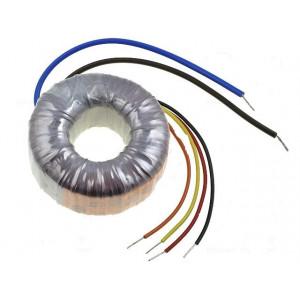 Transformátor toroidní 120VA 230VAC 15V 15V 4A 4A 1,2kg