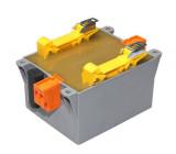 Transformátor zalévaný 200VA 230VAC 24V 8,33A na DIN lištu