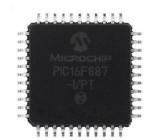 PIC16F871-I/PT Mikrokontrolér PIC EEPROM:64B SRAM:128B 20MHz TQFP44 2-5,5V