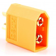 Zástrčka napájecí DC vidlice na kabel pájení Barva: žlutá 60A