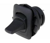 Přepínač páčkový 2 polohy DPDT ON-ON 6A/250VAC Výv: pájecí